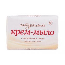Крем-мыло НАТУРАЛЬНОЕ Питательное С протеинами шелка 90г