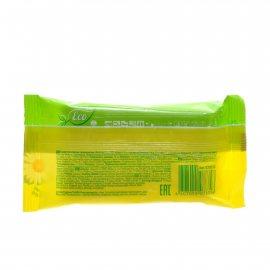 Салфетки влажные ECO LINE 15шт Освежающие С экстрактом ромашки и алоэ вера