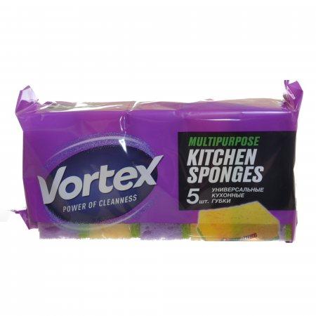 Губка для кухни VORTEX 5шт