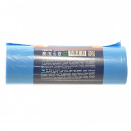 Мешок для мусора Avikomp PRESTIGE 60л 10шт Rubber Flex (тянущиеся) Голубой, рулон