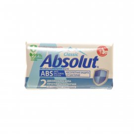 Мыло туалетное ABSOLUT Classic ABS Антибактериальное, ультразащита 90г