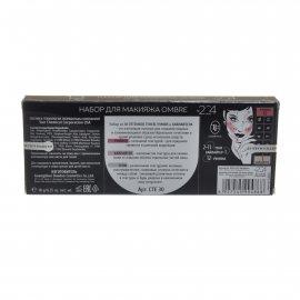 Набор для макияжа TRIUMPF OMBRE/хайлайтер, румяна, тени, тон 204