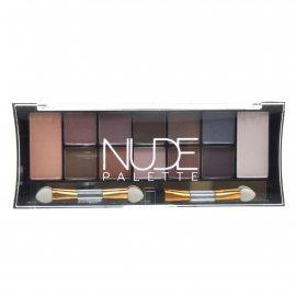 Тени TRIUMPF 12 Nude Palette Eyeshadow двенадцатицветные №02 Smoky Nudes/Дымчатый Палитра 18г