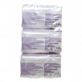 Мыло туалетное DURU 1+1 Soft Sensations/Крем&Розовый Грейпфрут 80г