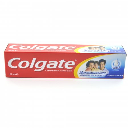 Зубная паста COLGATE Cavity Protection Свежая мята 50мл
