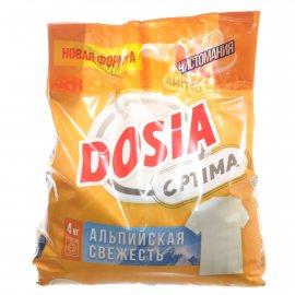 Стиральный порошок DOSIA Optima Автомат Альпийская свежесть 4кг