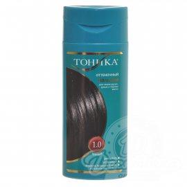 Бальзам оттеночный ТОНИКА 1.0 Черный для тёмно-русых,русых и черных 150мл
