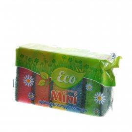 Губка для посуды ECO LINE 5шт Mini