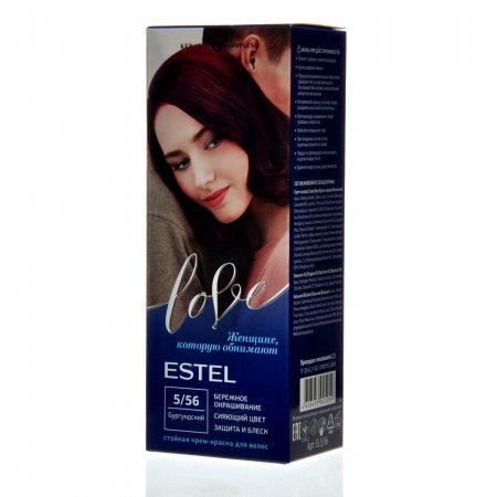 Крем-краска для волос ESTEL LOVE 5/56 Бургундский