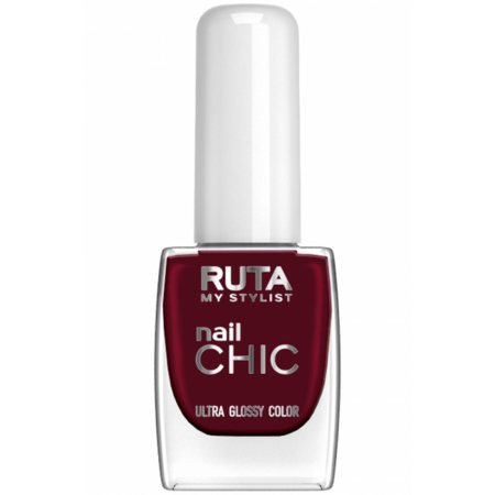 Лак для ногтей Рута Nail Chic №47 Темно-бордовый 8.50мл