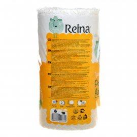 Бумага туалетная REINA Aroma 4 рулона двухслойная Ромашка и Алоэ вера с тиснен. и перфорац.