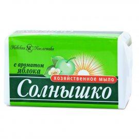 Мыло хозяйственное СОЛНЫШКО Яблоко 140г