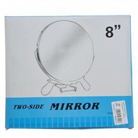 "Зеркало двухстороннее металл D19см ""8"""