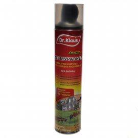 Инсектицид DR.KLAUS Аэрозоль против тараканов и муравьев 600мл