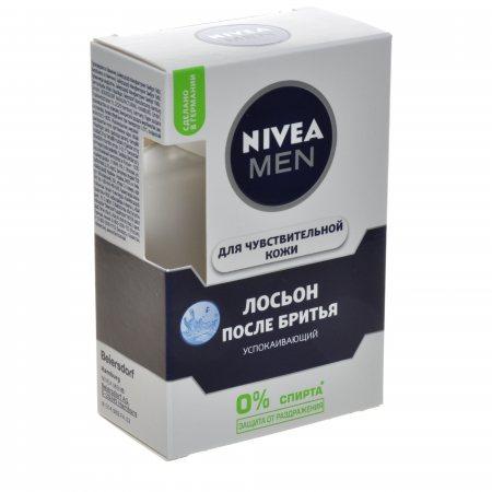 Лосьон после бритья NIVEA Men Успокаивает и увлажняет для чувствительной 100мл