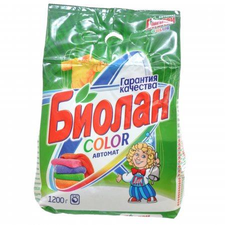 Стиральный порошок БИОЛАН Автомат Color 1200г