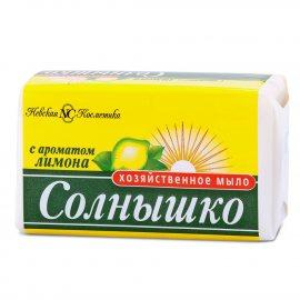 Мыло хозяйственное СОЛНЫШКО Лимон 140г