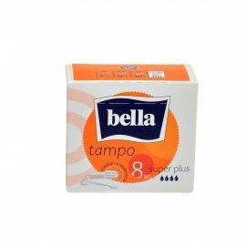 Тампоны BELLA 8шт Super Plus б/аппл.