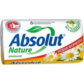 Мыло туалетное ABSOLUT Nature Антибактериальное, освежающее Ромашка 90г