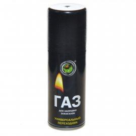 Газ для заправки зажигалок continent comfort Универс.переходник 140см3/55г