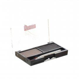 Тени для бровей TRIUMPF Eyebrow Cake набор для коррекции 2 цвета с закрепляющим воском №03 Коричнево-серая гамма