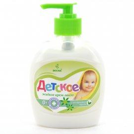 Крем-мыло жидкое ДЕТСКОЕ С экстрактом череды 280г