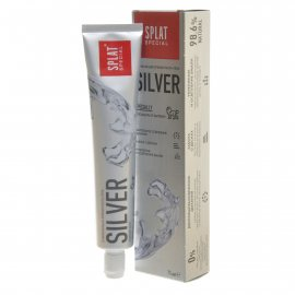 Зубная паста SPLAT Special Освежающая SILVER Гель 75мл
