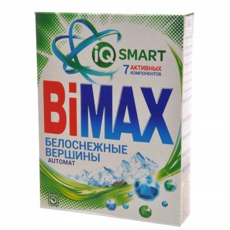 Стиральный порошок BIMAX Автомат Белоснежные вершины IQ SMART 7 Активных компонентов 400г