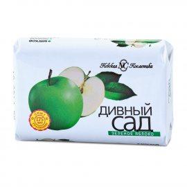 Мыло туалетное ДИВНЫЙ САД Зеленое яблоко 90г