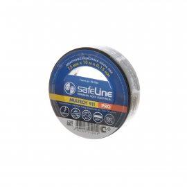 Изолента SafeLine 15ммх10мх0.15мм Черная вл10
