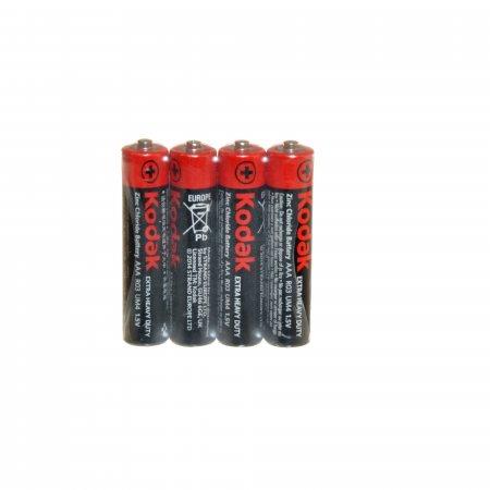 Батарейка KODAK Солевая R03 AAA 4шт