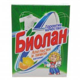 Стиральный порошок БИОЛАН Автомат Апельсин и Лимон 350г