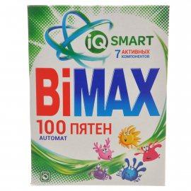 Стиральный порошок BIMAX Автомат 100 ПЯТЕН IQ SMART 7 Акт.комп. 400г