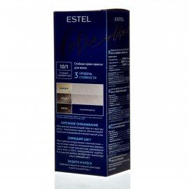 Крем-краска для волос ESTEL LOVE 10/1 Блондин серебристый
