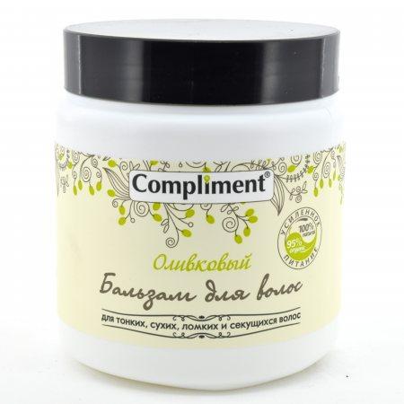 Бальзам для волос COMPLIMENT Оливковая серия для тонких,сухих,ломких и секущихся волос 500мл