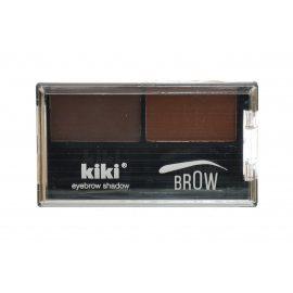 Тени для бровей KIKI Brown №02 Коричн/Золот-коричн 2.68г