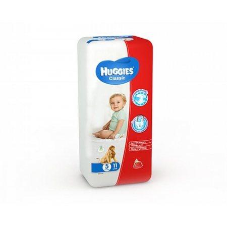 Подгузники HUGGIES Classic 11-25кг 11шт L(5)