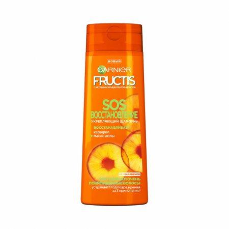 Шампунь для волос GARNIER FRUCTIS SOS Восстановление для секущихся и очень поврежденных Укрепляющий 250мл