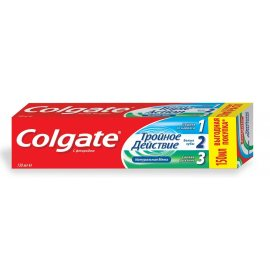 Зубная паста COLGATE Тройное действие Классическая мята 150мл
