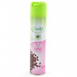 Освежитель воздуха GOLD WIND 2в1 Coffee 300мл
