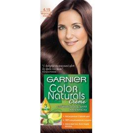 Крем-краска для волос GARNIER COLOR NATURALS стойкая 4.15 Морозный каштан