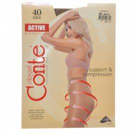 Колготки CONTE Active 006 40 р.4 Bronz/Бронза