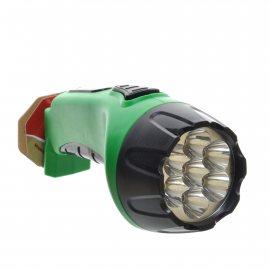 Фонарь РЕКОРД Аккумуляторный светодиодный PM-0107 Green