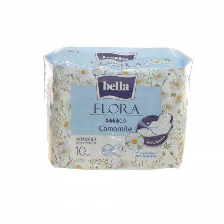 Прокладки BELLA FLORA гигиенические 10шт Camomile
