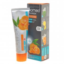 Зубная паста BioMed Укрепление эмали Vitafresh Цитрусовая свежесть 100мл