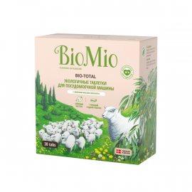 Таблетки для посудомоечных машин BioMio 30шт Масло эвкалипта Экологич.