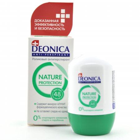 Антиперспирант DEONICA ролик Nature Protection 45мл