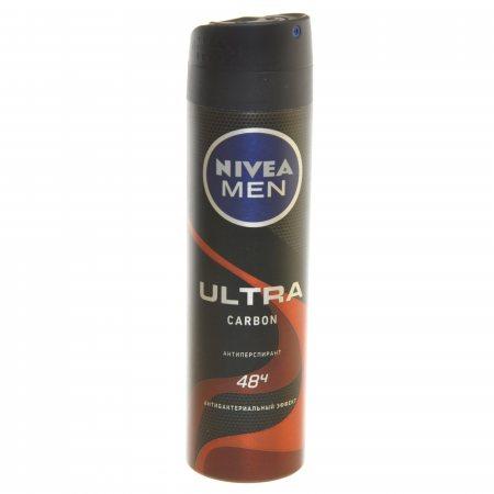 Антиперспирант NIVEA Men мужской спрей Ultra Carbon 150мл
