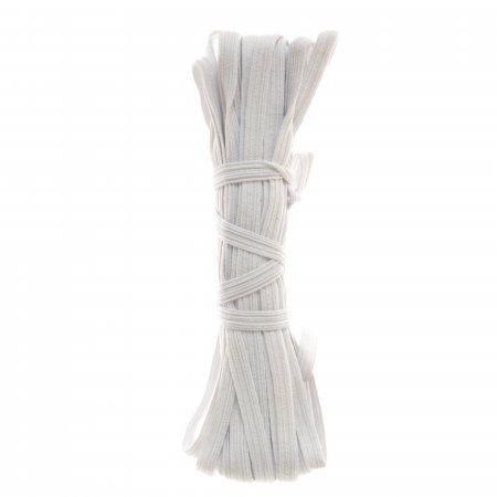 Резинка продежка белая 8мм 10м