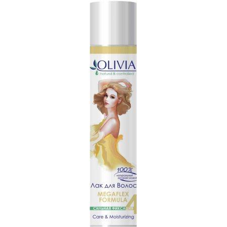 Лак для волос OLIVIA Сильная фиксация 4 С экстрактом жожоба 250мл